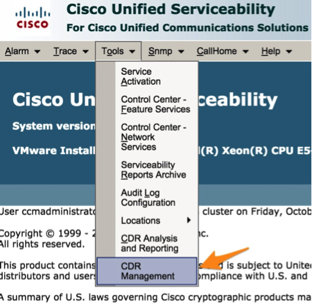 Variphy CUCM Prerequisites & Preparation - Variphy Cisco CDR